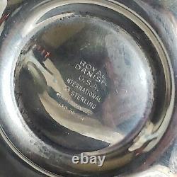 1939 International Royal Danish Convertible Sterling Silver Candelabras 130 65 4