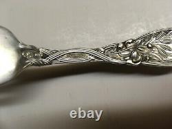 1 Vtg International Sterling Silver Frontenac Lily Fork Marked Mono of 4