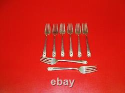 49 pieces Sterling Silver By International Spring Glory Pattern