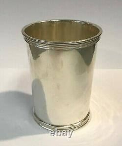 Antique Sterling Silver Mint Julep Cup by International