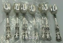 Buttercup by Gorham Sterling Silver set of 8 Ice Cream Forks 5.25
