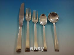 Continental by International Sterling Silver Flatware Set For 12 Service 65 Pcs