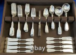 Eighteen Ten 1810 Sterling Flatware International Silver 12 Set 72 Pc