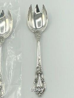 Eloquence by Lunt Sterling Silver set of 8 Ice Cream Forks 5 7/8