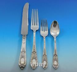 Fontaine by International Sterling Silver Flatware Service 12 Set 48 pcs Dinner