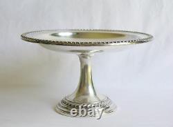 Gadroon International Sterling Silver Pedestal Compote