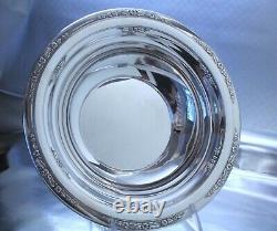 International Courtship Sterling Silver Bowl Large 10w No Monogram