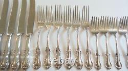 International JOAN OF ARC Sterling Silver 24-Piece Luncheon / Place Service Set