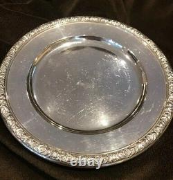 International Prelude Sterling Silver Bread Plate(s) 6 Inches No Monograms