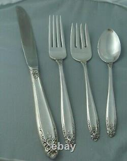 International Prelude Sterling Silver Four (4 pc) Piece Setting PLACE SIZE