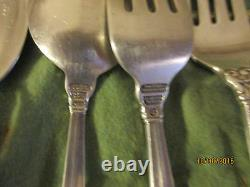 International ROYAL DANISH STERLING silverware set of 27 pieces