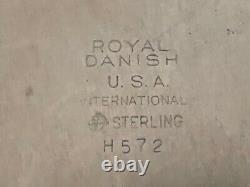 International Royal Danish Sterling C1939 Nine Bread & Butter Plates 6
