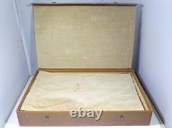 International Royal Danish Sterling Silver 7 Piece Bar Set Fitted Case C 1939