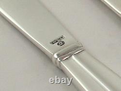 International Royal Danish Sterling Silver Butter Spreaders 6 Set of 6