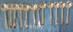 International Silver Continental Sterling Flatware Set for 12 71 Pieces