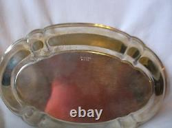 International Silver Sterling Holloware 9 3/4 Oval Vegetable Bowl W X 14