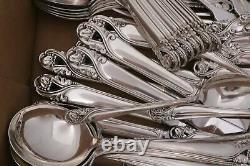International Spring Glory Sterling Silver Flatware 134 Pieces No monogram