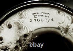 International Sterling Goblets CHARLEROI RARE