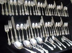 International Sterling Silver, Joan of Arc, 66 Pieces, No Mono, with Chest