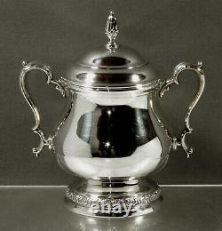 International Sterling Sugar Bowl c1940 PRELUDE