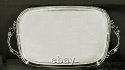 International Sterling Tea Set Tray c1950 LA PAGLIA