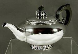 International Sterling Tea Set c1950 LA PAGLIA