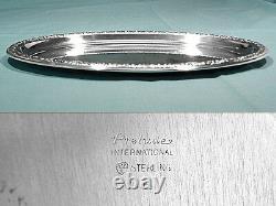 International Sterling Tray For Mini Creamer & Sugar Set Prelude No Mono