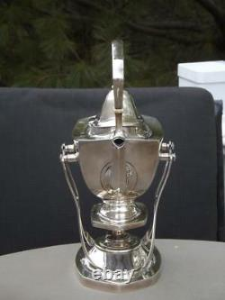 International Sterling Trianon Sterling Silver Water Kettle & Stand with Burner