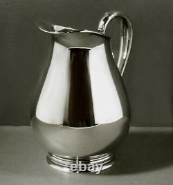 International Sterling Water Pitcher c1950 Royal Danish