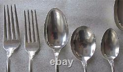 Joan Of Arc Sterling Silver flatware for 8 51 pieces by International 2974 gr
