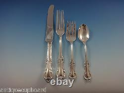 Joan of Arc by International Sterling Silver Flatware Set 12 Service 63 Pieces