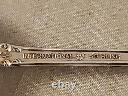 LOT of 8 VINTAGE INTERNATIONAL PRELUDE STERLING SILVER ICE ICED TEA SPOONS