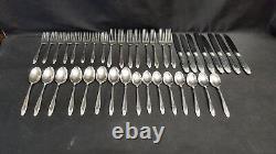 Prelude by International Silver Sterling Flatware 40 Pcs Large dinner knife fork