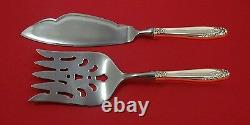 Prelude by International Sterling Silver Fish Serving Set 2 Piece Custom HHWS