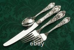 Richelieu by International Sterling Silver flatware, 32 piece Service for 8