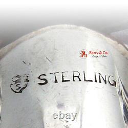 Royal Danish Bar Set Corkscrew Jigger Masher Sterling Silver International 1939