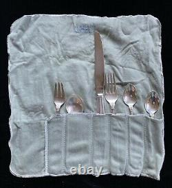 Royal Danish by International Sterling Silver 72 piece service for 12