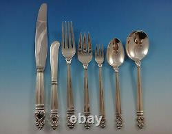 Royal Danish by International Sterling Silver Flatware Set 12 Service 86 Pieces