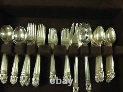Royal Danish by International Sterling Silver Flatware Set 92Pieces