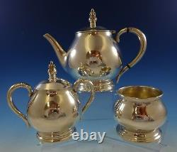 Royal Danish by International Sterling Silver Tea Set 3pc (#2439)