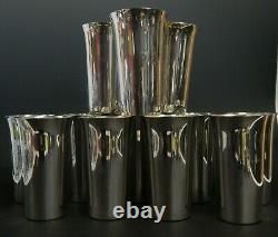 Set of 12 International 101 25-2 Sterling Silver Mint Julep Cups Tumblers