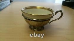 Set of 12 International Tea / Demi Cup Holders with 12 Lenox Liners