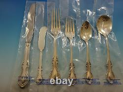Southern Colonial by International Sterling Silver Flatware Set For 8 48 PC New
