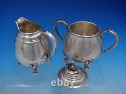 Spring Glory By International #C360 5 Piece Sterling Silver Tea Set (#4113)