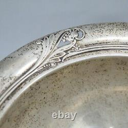 Spring Glory International Sterling Silver Footed Bowl 6.5 Y93