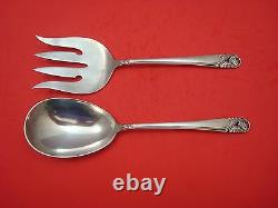 Spring Glory by International Sterling Silver Salad Serving Set 2pc