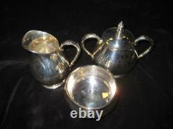 Sterling Coffee/Tea Set (6) Royal Danish C353 Intl Sterling NO Dents/dings