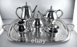 Sterling International ROYAL DANISH pattern (1939) 6 piece tea set