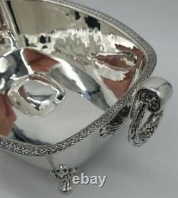 Sterling Silver Flower Centerpiece by International