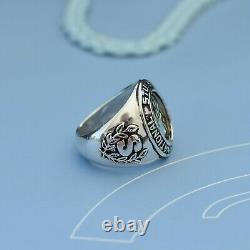 Stussy International Tribe silver class ring. Vintage. New Old stock